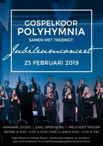 Poster Jubileumconcert 2019